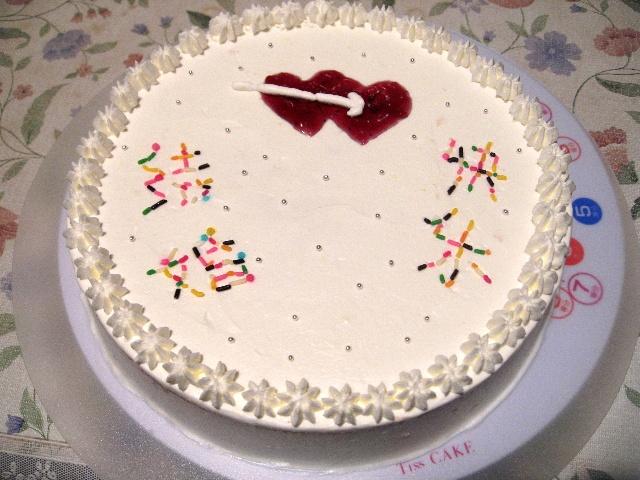 早上睡了个懒觉,中午享用了美味的四周年纪念蛋糕,下午游览了日本图片