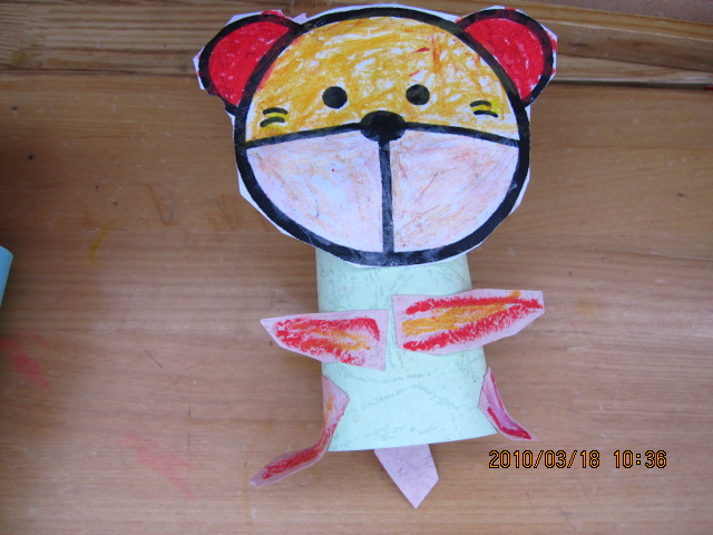 动物纸偶图片