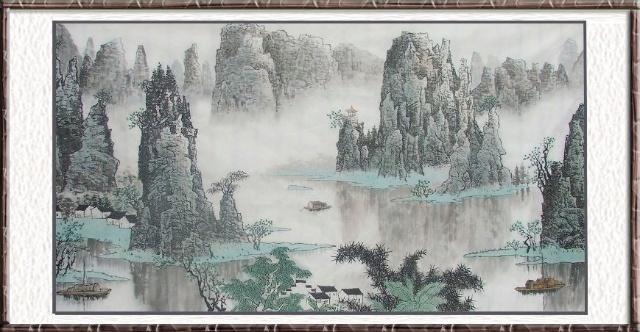中国山水画作品欣赏