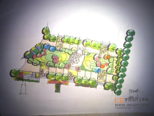 景观,园林,城市规划,室内设计等手绘设计表现及各专业考研快题培训.