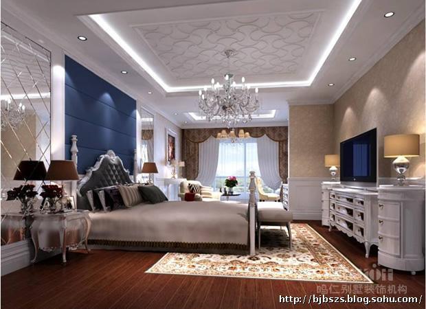 皇城大宅设计方案—主卧室