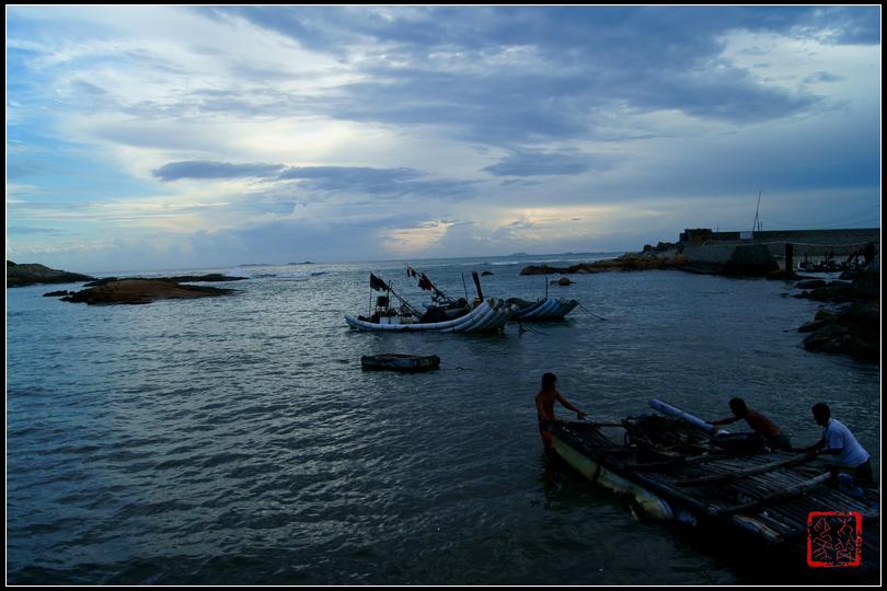 汕尾遮浪岛红海湾——渔港