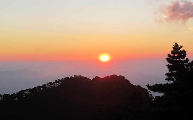 黄山景区天气预报