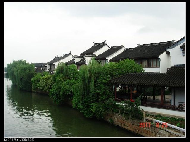 姑苏山塘街之河
