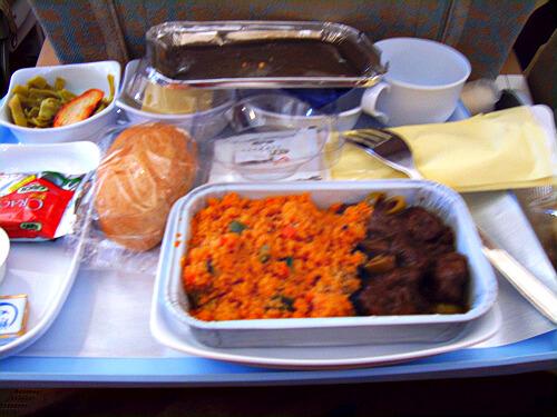 海南航空经济舱飞机餐