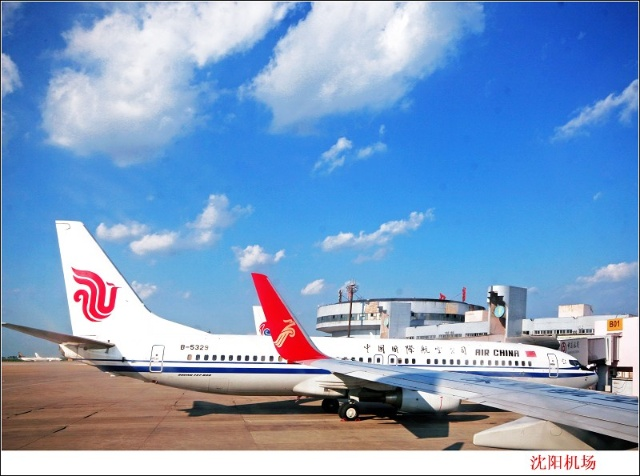 从沈阳到南京的飞机