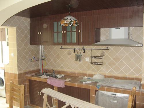 砖砌厨房灶台步骤图