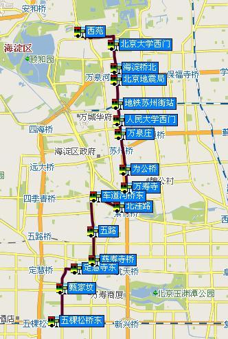 赤峰几路公交车能到马鞍山