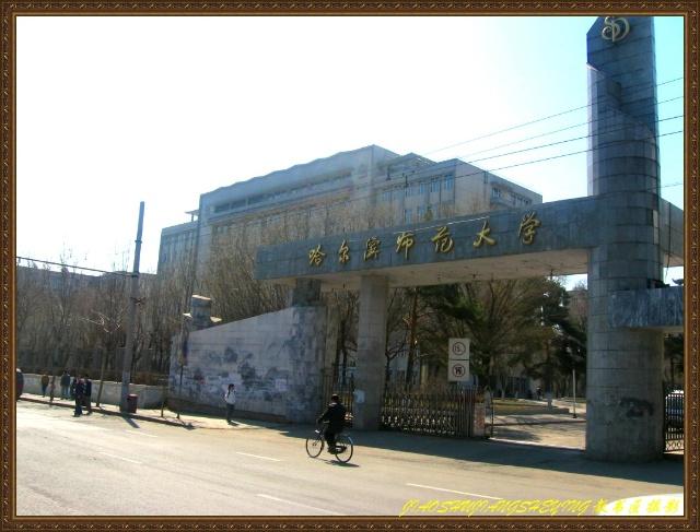 哈尔滨师范大学江南校区图片