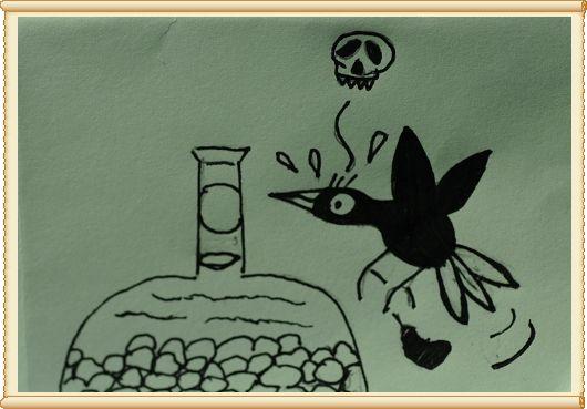 公子版的乌鸦喝水图片