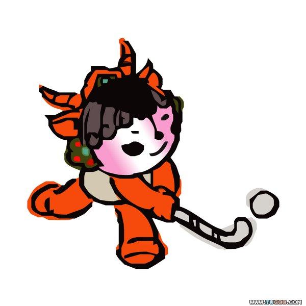 福娃是北京2008年第29届奥运会吉祥物,其色彩与灵感来源于奥林匹克五