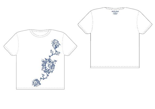 衣服装饰青花瓷图案简笔画图片