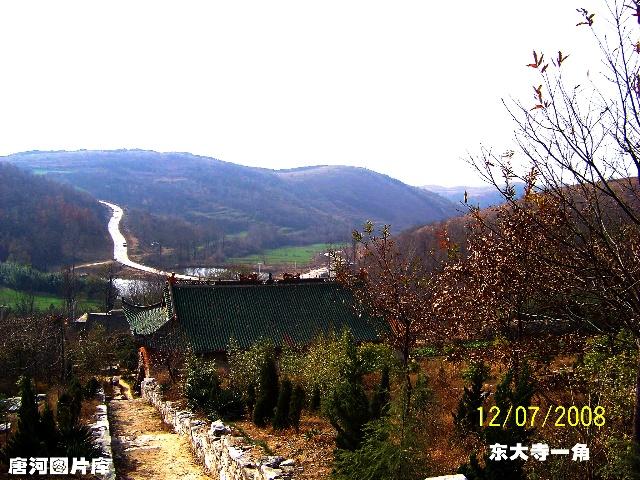 唐河图片之湖阳镇东大寺风景