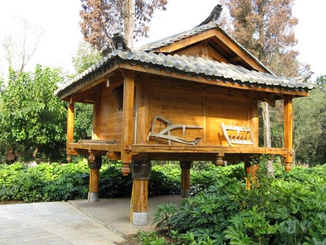 蒙古族房子简笔画彩色