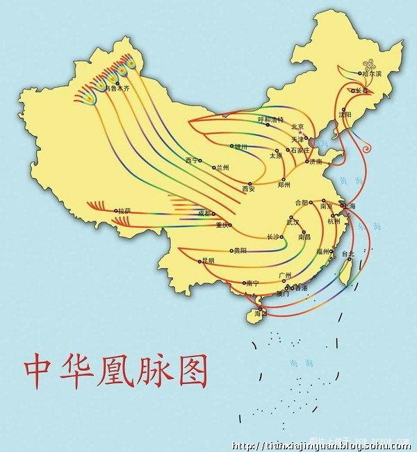【中国地图】中国地图居然暗藏如此天机!