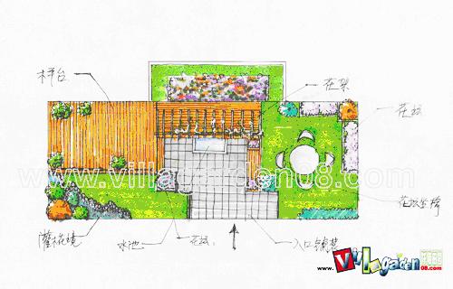 屋顶花园设计方案