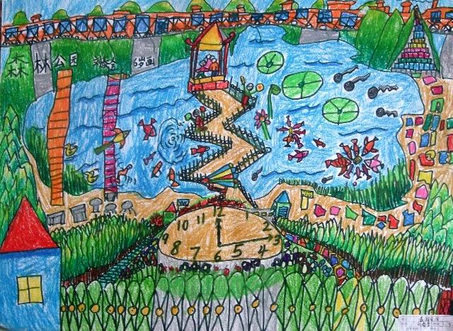 虫虫交的绘画作品《森林公园》