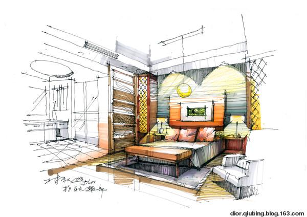 室内设计透视图-与子图库-我的搜狐