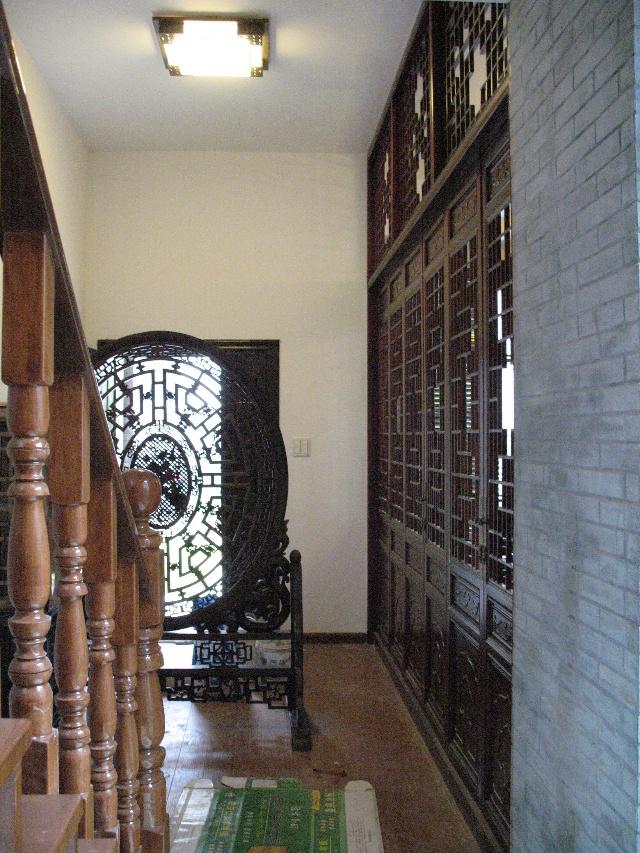 中式仿古房屋天井设计