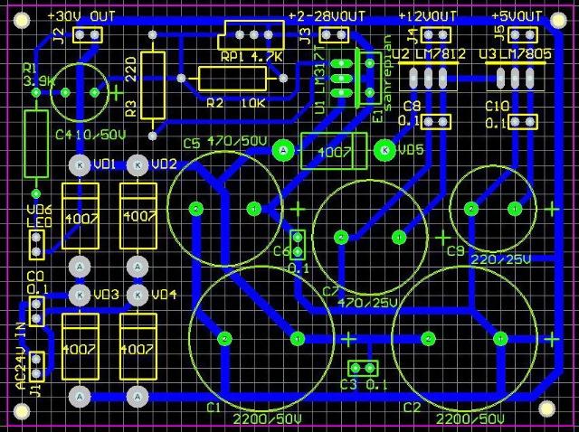 结合电路原理图查对元器件一览表.元器件的封装此表没有列出.