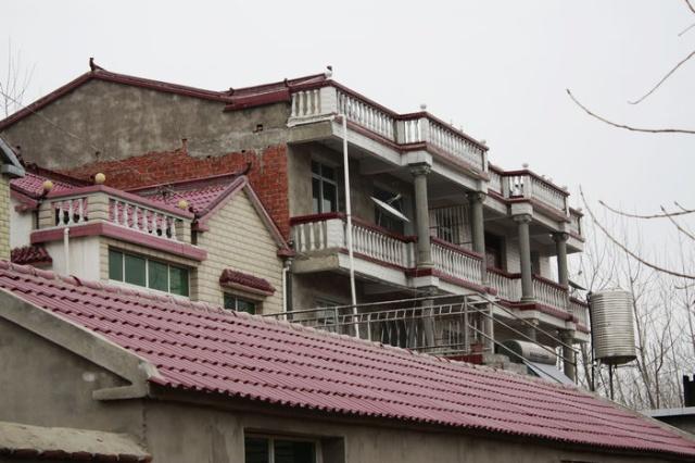 农村三屋小别墅图片