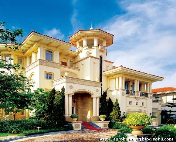 观澜湖高尔夫别墅--欧式建筑的代表作
