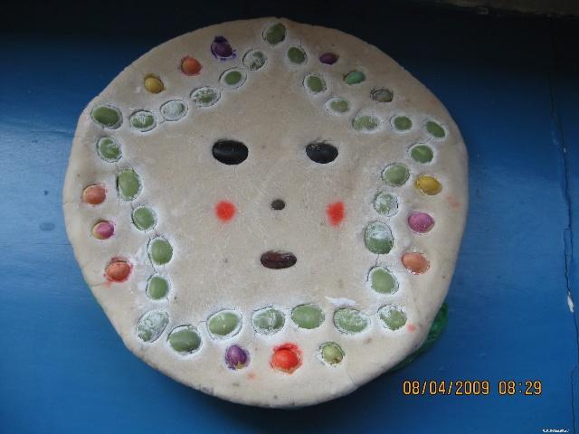 用蛋糕盘做手工图片