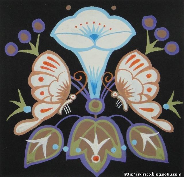 儿童水粉画花卉-儿童水粉画教师范画|水粉画入门一步一步教|初学好看