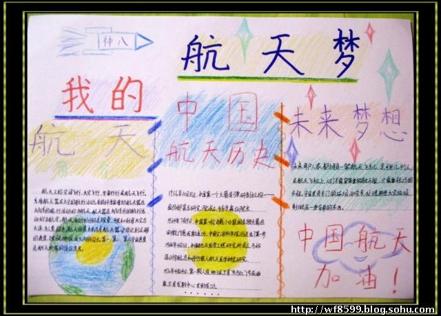 我的中国梦小学生手抄报_爱祖国手抄报_老师板报网