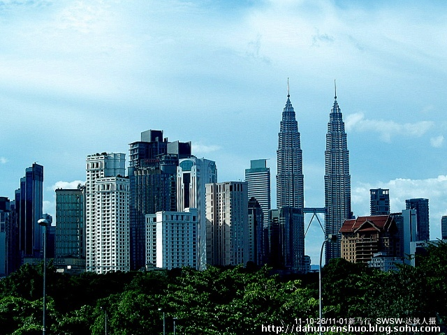 高的建筑-双子塔