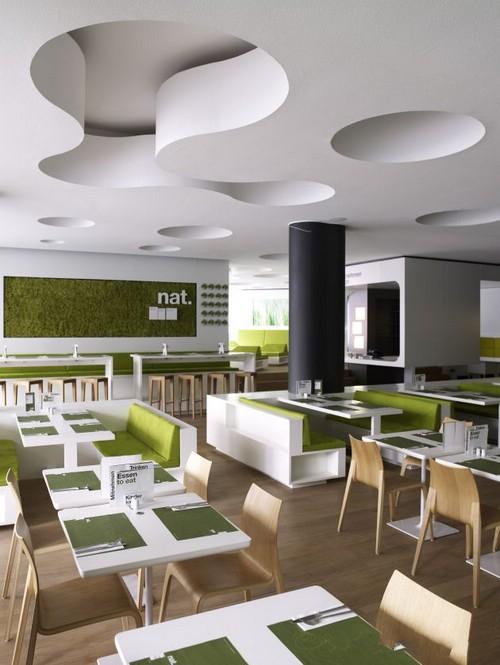 德国汉堡NAT生态餐厅效果图设计