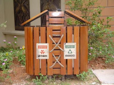分类垃圾桶升级垃圾桶标识细化