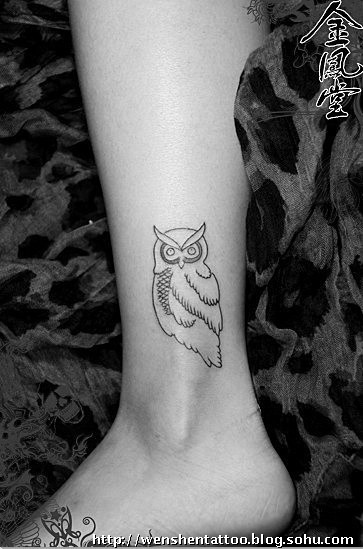 莲花纹身图 字母纹身 玫瑰花刺青 耳后纹身 猫头鹰纹身 手枪纹身图案