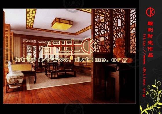 中式装修效果图; 简约古典中式装修设计—高雅; 中式风格装修特点及