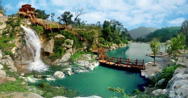济南周边的风景区游览过不少,但是九如山如诗如画的风景真的给