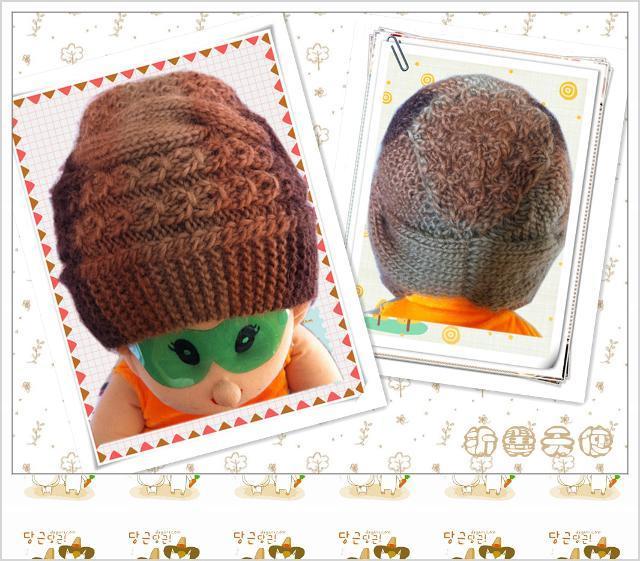 儿童帽子疙瘩编织图解