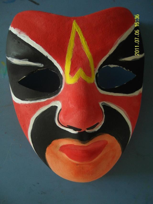 彩绘面具作品!