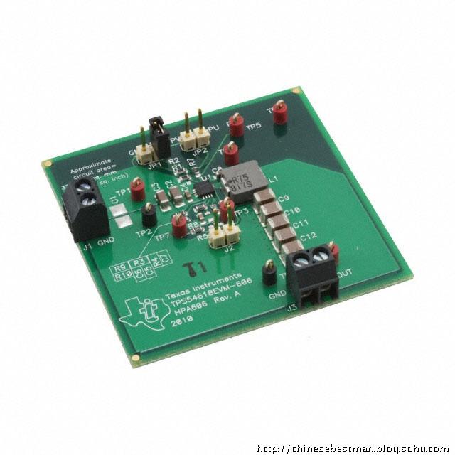 tps54618电压转换器评估板布线参考(附图片)!