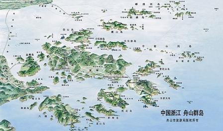 舟山群岛一眸