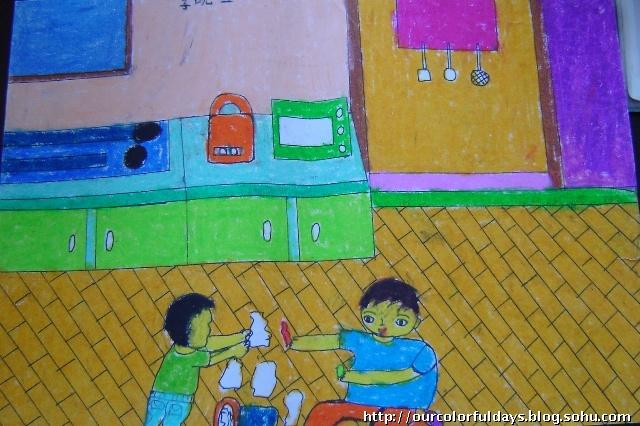 祖国在我心中儿童画_第8页_画画大全