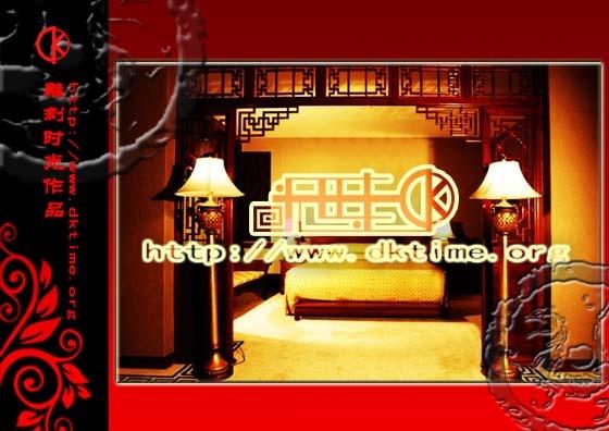 水木天华宾馆酒店套房效果图设计案例赏析