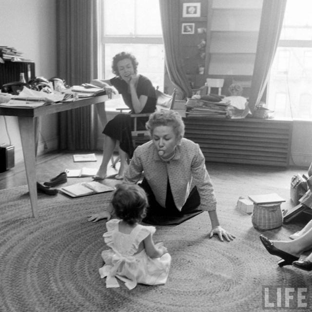 1948年美国平面模特生活纪实